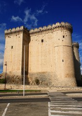 construction medieval, chateau de tarascon