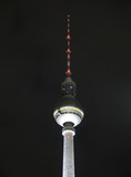 Night TV tower in Berlin