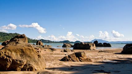 coast line in kuching sarawak (borneo )