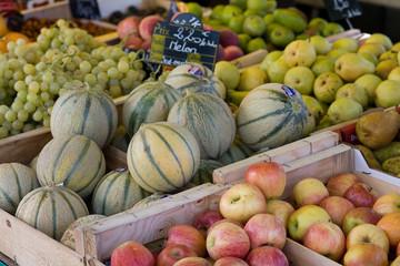 Fruits de saison au marché