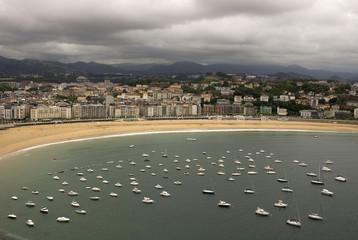 Barche a San Sebastian