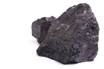Two lumps of coal