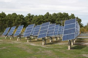 panneaux solaires centrale solaire