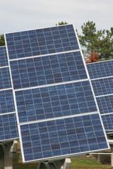 panneaux solaires d'une centrale solaire