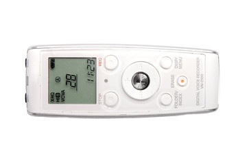 Voice recorder aka dictaphone.