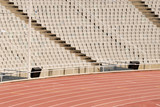 Seats in an empty stadium
