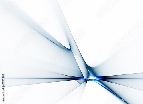 Abstract illustration of horizon, corporate business style