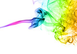 Fototapety Colorful abstract smoke