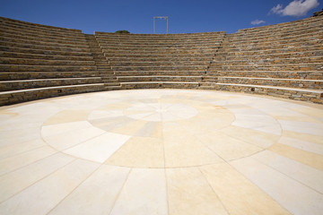 Greek Amphitheater, Ios Island, Greece