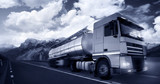 Fototapeta termin - dostawa - Ciężarówka