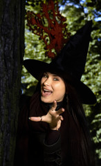 Witch in the hat