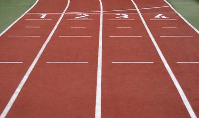 running start line