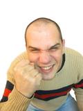 Hooligan bully violent man poster