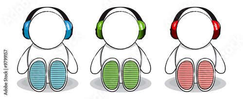 Headphone Trio