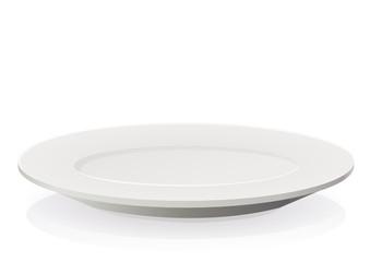 Assiette vide (reflet)