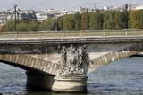 Pont des Invalides Paris poster