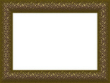 Classic Gold Frame PNG with Transparency poster