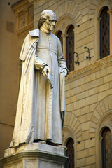 Italien, Toskana, Siena, Denkmal Sallustio Bandini