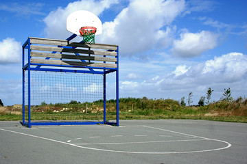 Basket ground