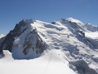 Mont Blanc du Tacul et Mont Blanc