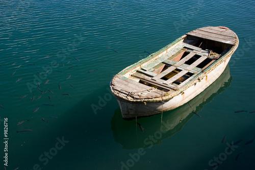 Barca y corcones