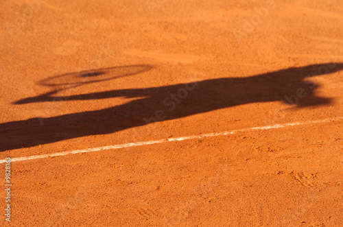 canvas print picture tennis