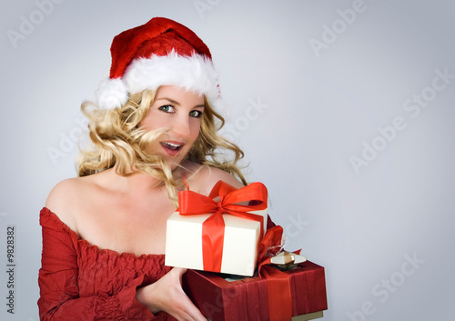 Santa 2 / beautiful Santa-woman