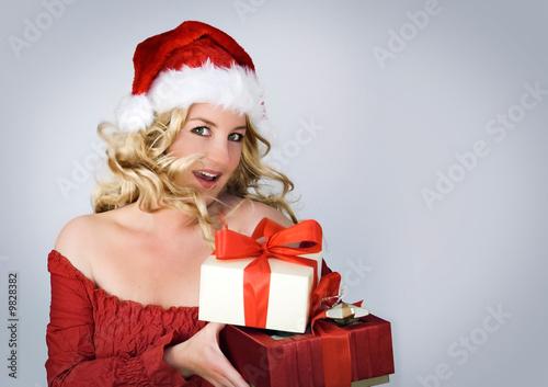 Santa 2 / beautiful Santa-woman