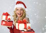 Santa 4_4 / beautiful Santa-woman