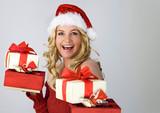 Santa 4 / beautiful Santa-woman