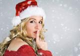 Santa 1_3 / beautiful Santa-woman
