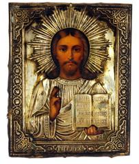 Ancient church icon.