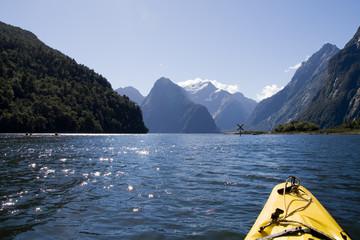 Milford Sound, New Zealand - Kayak Tour