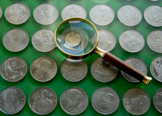Magnifying and russian money