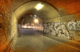 Fototapete Tunnel - Herbst - Andere