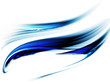 illustration of wavy flowing energy, corporate business style