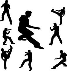 fighting man illustration