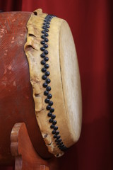 "Japanese traditional drum""TAIKO"""