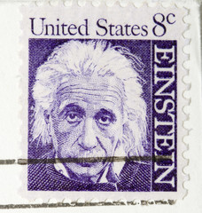 This is a vintage 1964  Stamp Albert Einstein