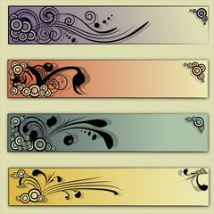 floral vector backgrounds