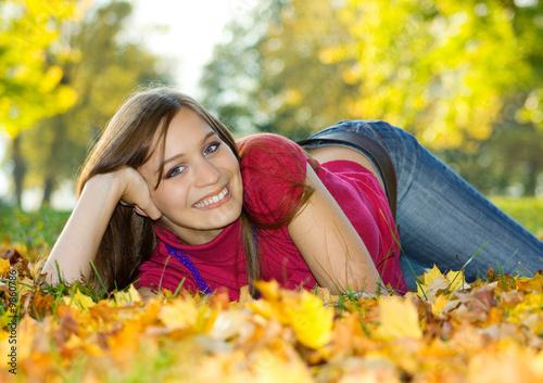 Leinwandbild Motiv autumn beauty 7