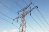 Overhead power line poster