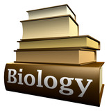 Education books - biology poster