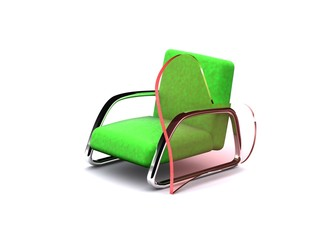 I love my armchair. 3D