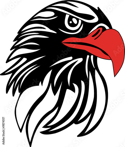 eagle head vector file