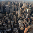 AERIAL VIEW OF MANHATTAN (NEW YORK, USA)
