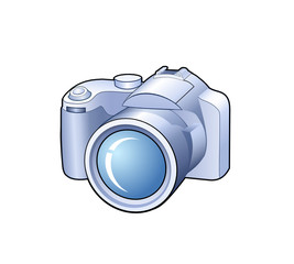 Camera detailed vector icon
