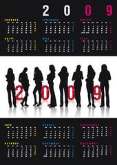 Calendario Glamour 2009
