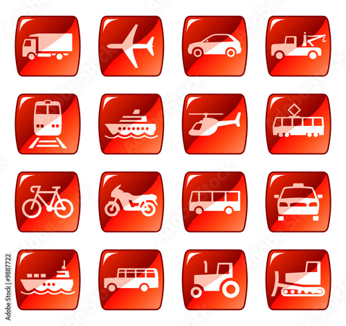 Transport icons, buttons 4