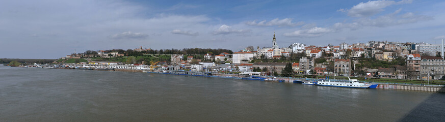 Panorama of Belgrade, Serbia